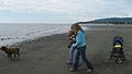 At the beach, Alaska, 2008.jpg