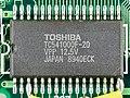 Atari Portfolio HPC-004 - mainboard - Toshiba TC541000F-20-4646.jpg