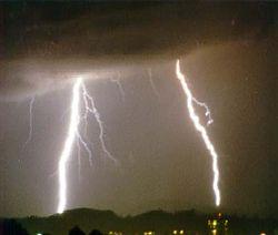 La electricidad en su manifestación natural más imponente: el relámpago