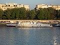 Attila (ship, 1921) and Millenium I (ship, 1990), 2018 Margaret Island.jpg