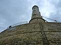 Au pied du phare de Cordouan.JPG