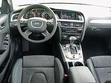 Audi A4 B8 Facelift allroad quattro 2.0 TFSI S tronic Phantomschwarz Interieur.JPG