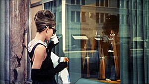Breakfast at Tiffany's (film) - Hepburn in the opening scene.