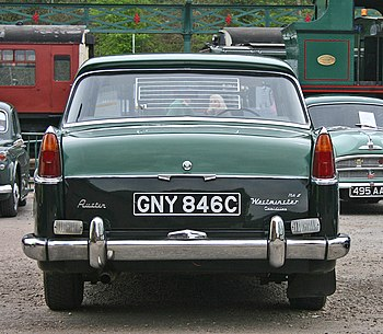 English: Austin A110 Westminster MkII. The MkI...