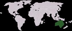 Location of ಆಸ್ಟ್ರೇಲಿಯ