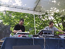 Autechre performing at Princeton