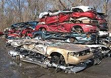 Wrecking yard - Wikipedia
