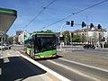Autobus Solaris Urbino 18 MPK Poznań linii 174 na ulicy Królowej Jadwigi w Poznaniu - maj 2021.jpg