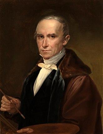 José de Madrazo y Agudo - Self-portrait (c.1840)