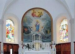 Auxelles-Haut, Autel d'église Notre-Dame-Auxiliatrice.jpg