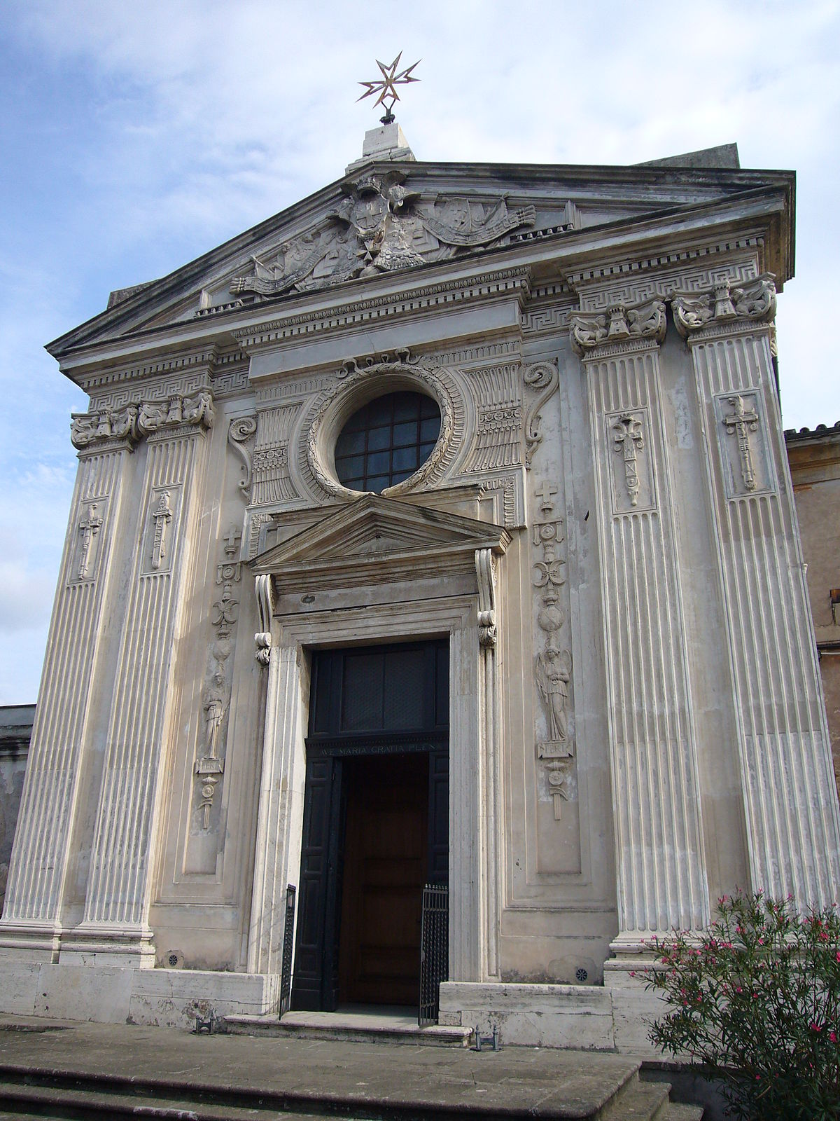 Santa Maria del Priorato Church - Wikipedia