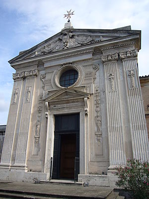 Santa Maria del Priorato Church - Façade of the Church of Our Lady of the Priory