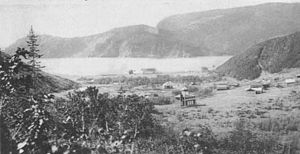 Ayan, Russia - The port of Ayan in the early 20th century
