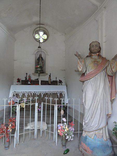 Azerailles (M-et-M) oratoire, intérieur