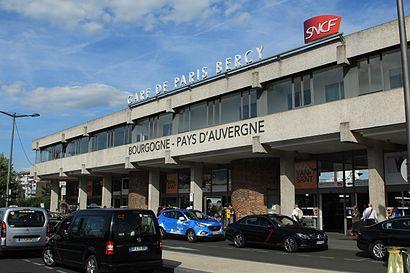 How To Get To Gare De Paris Bercy In Paris By Metro Bus Or Rer Moovit