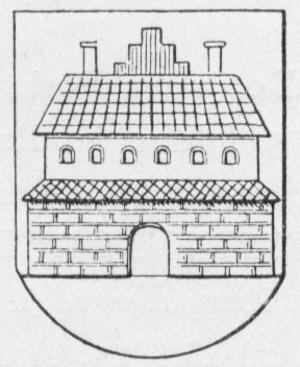 Børglum - Børglum Abbey, featured on the coat of arms of the former Børglum Herred