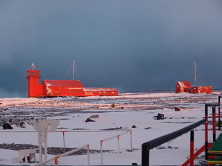 Antarctic base in Argentina