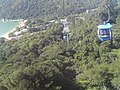 BALNEÁRIO CAMBORIÚ (Bondinho Aéreo, Praia de Laranjeiras), Santa Catarina, Brasil by Maria de Lourdes Dalcomuni (Ude) - panoramio.jpg