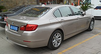 Bmw 5 Series F10 Wikipedia