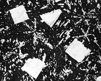 Babbitt (alloy) - Microstructure of babbitt