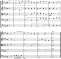 Bach Fugue XXII in B flat minor BWV 869, closing bars.png