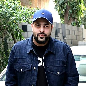 Badshah spotted before the shoot of No Filter Neha.jpg
