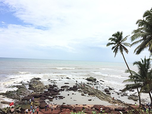 Bagha beach in goa