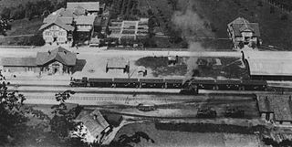 defunct Swiss railway company