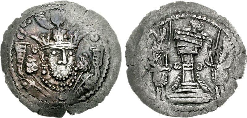 Bahram of Gandhara circa 350-365 CE