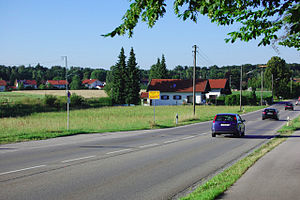 Bundesstraße 11 - Bundesstraße 11 near Baierbrunn
