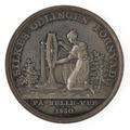 Baksida av medalj, slagen med anledning av silkes odlingens förnyande på Bellevue 1830 - Skoklosters slott - 99611.tif