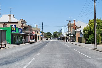 Balaklava, South Australia - Shops in the main street of Balaklava