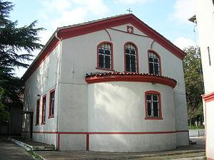 Balıklı, Istanbul - The church of the Greek Hospital in Balikli.