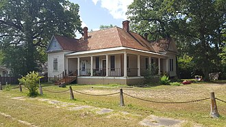 National Register of Historic Places listings in Angelina County, Texas - Image: Banks Ogg House, Lufkin, TX