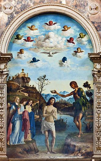 Baptism of Christ (Cima da Conegliano) - Image: Baptism of Christ by Cima da Conegliano