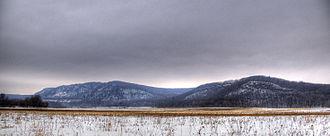 Baraboo Range - Baraboo Range in winter