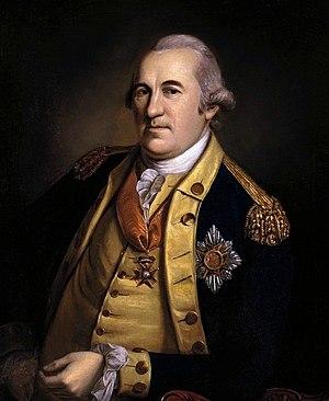 Friedrich Wilhelm von Steuben - Friedrich Wilhelm von Steuben, by Charles Willson Peale