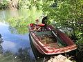 Barque de pêcheur sur l'Isle, Saint-Front-de-Pradoux.jpg