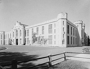 Barracks, Virginia Military Institute - Barracks at Virginia Military Institute
