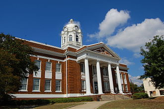 Barrow County, Georgia - Image: Barrow County Courthouse