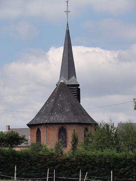 Barzy-en-Thiérache (Aisne, Fr) église, chevet