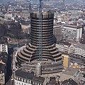 Basel - Bauarbeiten am BIZ-Turm 1976.jpg