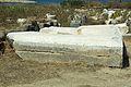 Basis Colossus Oikos Naxians Delos 600-550 BC, inscriptio, 143375.jpg