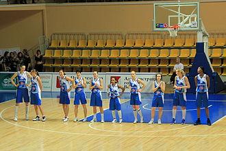 "Dynamo Kursk - ""Dynamo"" Kursk's Basketball players, 2012."