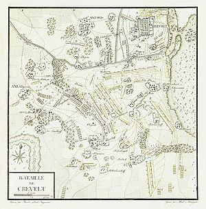 Battle of Krefeld - Image: Bataille de Crevelt