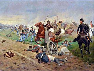 Battle of Tucumán Está fue una batalla entre las Provincias Unidas del Río de la Plata y el Reino de España que se realizó en San Miguel de Tucumán.