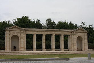 Bayeux Commonwealth War Graves Commission Cemetery - The Bayeux Memorial commemorates more than 1,800 casualties of the Commonwealth.