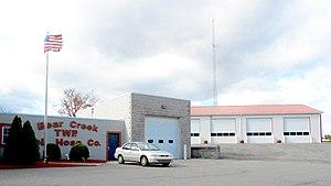 Bear Creek Township, Luzerne County, Pennsylvania - Municipal building and fire department