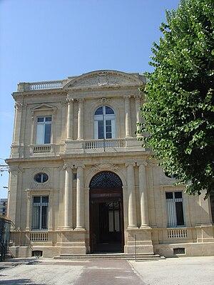 Musée des Beaux-Arts de Bordeaux - Entrance of the museum