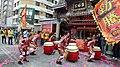Beitou Jifu Temple street celebration performance 20180226.jpg